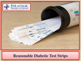 Reasonable Diabetic Test Strips