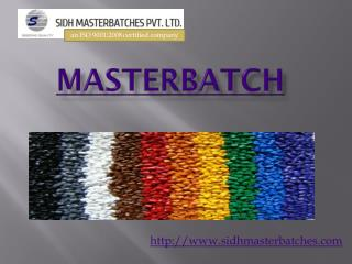 Master batch exporter from india | masterbatch exporter