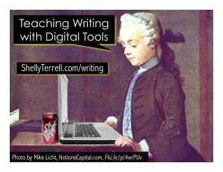 Teach Writing with Digital Tools