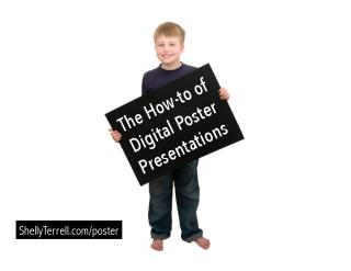 The How To of Digital Poster Presentations