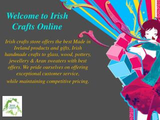 Welcome to Irish Crafts Online