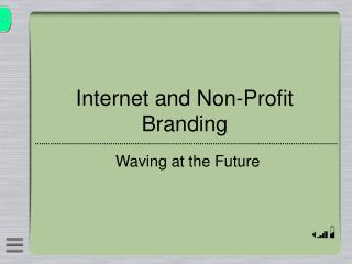 Internet and Non-Profit Branding