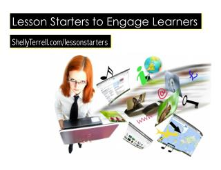 Engage Them! Over 40 Lesson Starters