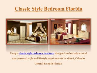 Classic Living Room Furniture Orlando