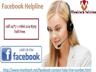Dial 1-866-224-8319 Facebook Helpline Anytime You Need .