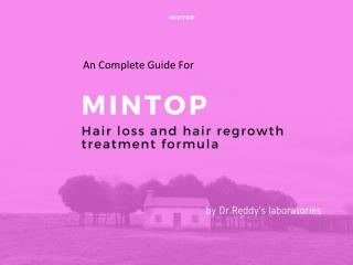 Mintop - A Scientifically Proven Hairfall Treatment |Men & Women