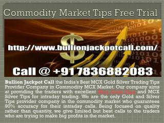 Gold Silver Trading Tips Free Trial