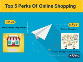 Top 5 Perks of Online Shopping