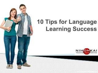 10 Important tips for Language Learning Success