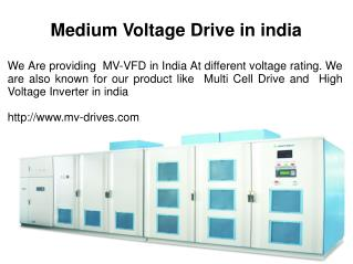 Medium Voltage Drive in india