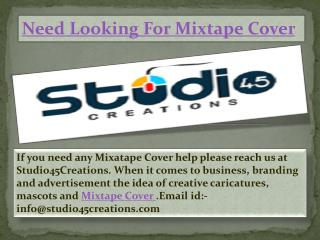 Need for Mixtape Cover in Aurora - studio45creations