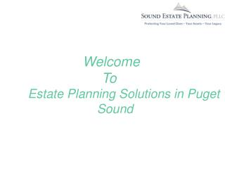 Asset Protection in Puget Sound