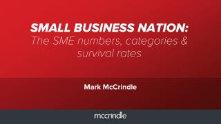 Small business nation Australian Small and Medium Businesses defined