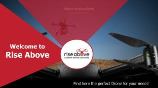 Quadcopter Drone - Rise Above