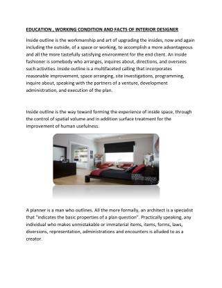 More About interior Design