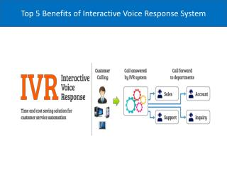 Top 5 Benefits of Interactive Voice Response System