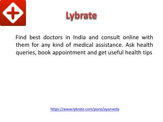 Best Ayurvedic Doctor in Pune - Lybrate