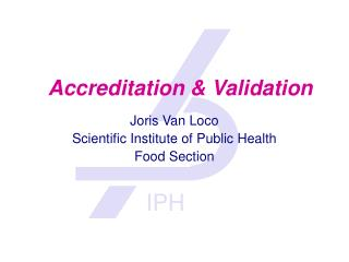 Accreditation & Validation
