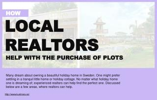 How Can Experienced Realtors Help Customers To Buy The Right Plots