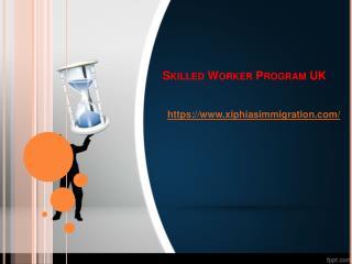 skilled worker program uk