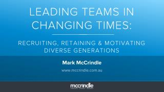 Leading teams in changing times slideshare