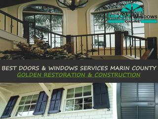 Doors and Windows Services Marin County