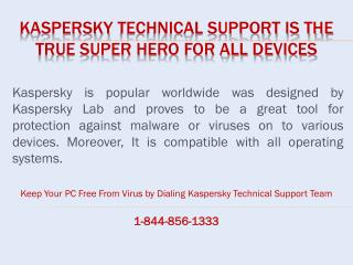 Kaspersky Technical Support Canada