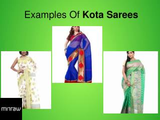 Kota Sarees Collection