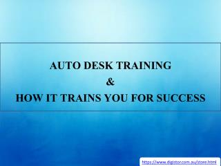 Auto Desk Training & How It Trains You For Success