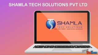 SHAMLA TECH SOLUTIONS