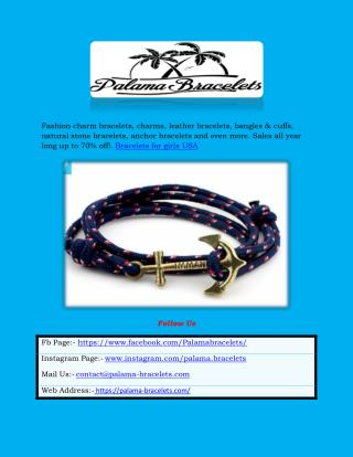 Palama Bracelets - Fashion Charms & Bracelets for Men & Women