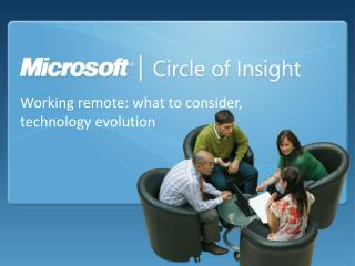 Working remote: what to consider, technology evolution