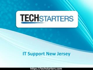 It Services New Jersey - Techstarters