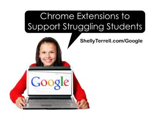 Extensions to Help Struggling Learners