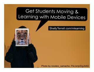 Active Learning with Mobile Devices