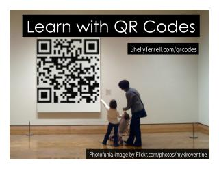 Learn with QR Codes