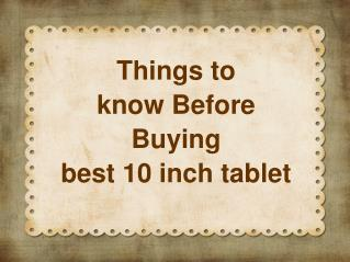 Best Cheap 10 inch Tablets For Sale