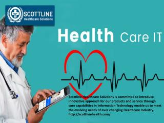 Scottline Healthcare Solutions has Innovative Approach