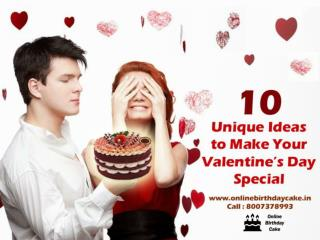 10 Unique Ideas to Make Your Valentine's Day Special
