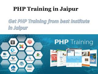 PHP Training in Jaipur - Traininginstituteinjaipur.net