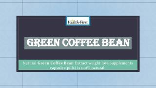 Green Coffee Bean Health Supplement Online