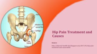 Hip Pain Treatment and Causes