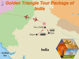 golden triangle tur package of india