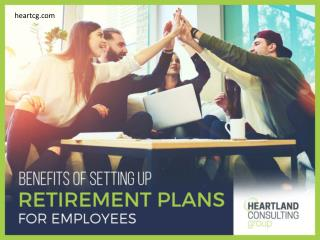 Benefits of Adopting Retirement Plans for Small Business