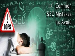 SEO Mistakes to be avoided in 2017