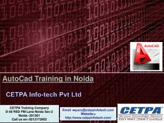 Autocad Training in Noida
