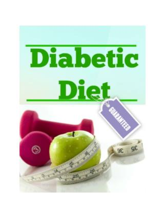 Diabetics Diet: Healthy Eating Tips for diabetes