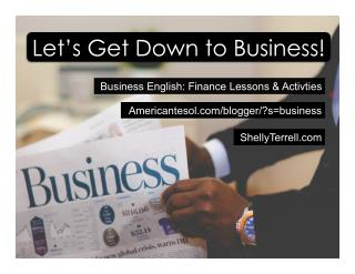 Business English and Financial Literacy