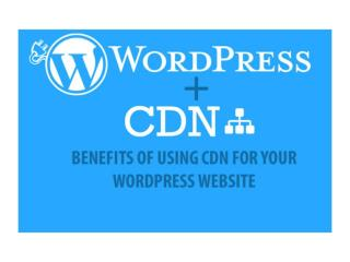Importance of using CDN for your WordPress Website