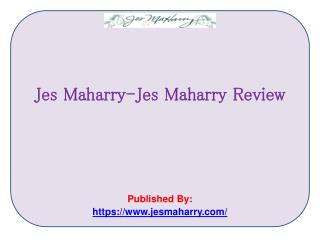 Jes Maharry Review